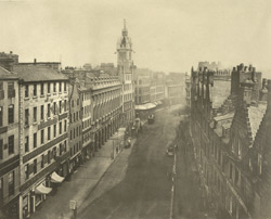 Trongate From Tron Steeple, 1868